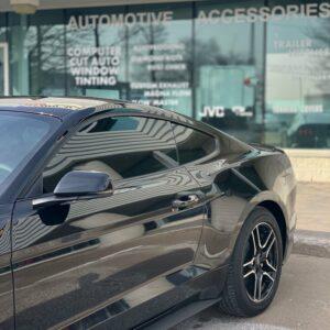 Mustang window tinting
